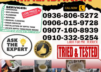 24/7 MPS MALABANAN SIPHONING, DECLOGGING AND PLUMBING SERVICES-09071608939